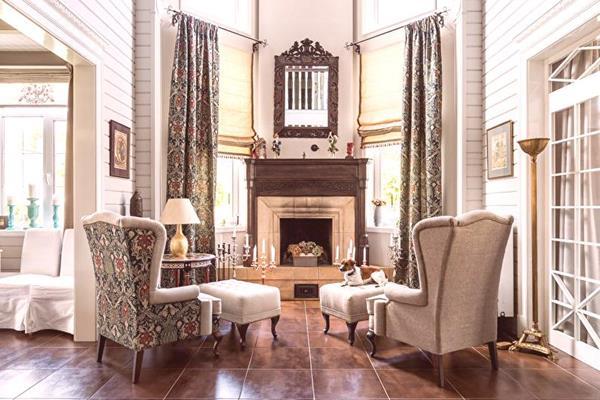 Wnętrze w stylu neoklasycznym
